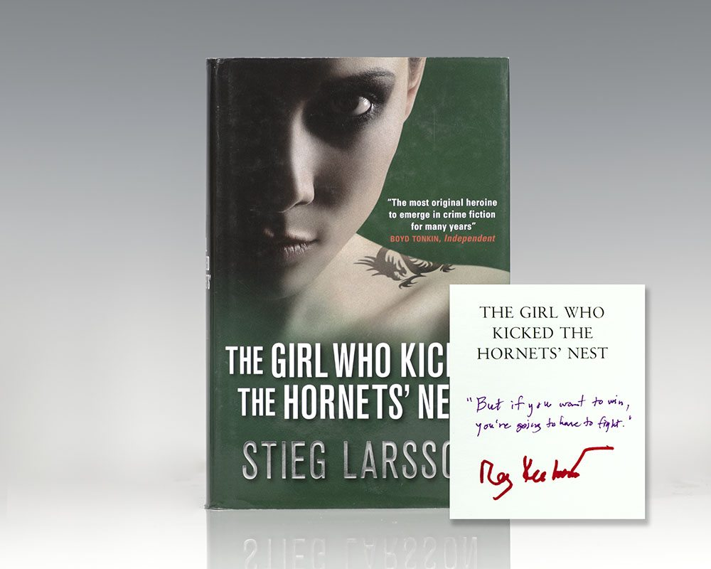 The Girl with the Dragon Tattoo; The Girl Who Played with Fire; The Girl Who Kicked the Hornet's Nest.