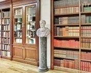 The interior of Raptis Rare Books in Palm Beach, Florida.