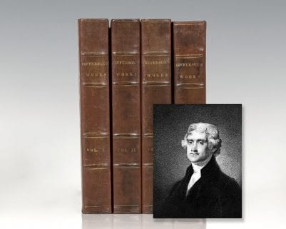 Memoir, Correspondence, and Miscellanies, from the Papers of Thomas Jefferson. Edited by Thomas Jefferson Randolph.