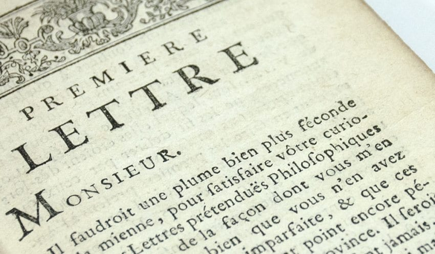 Reponse ou Critique des Lettres Philosophiques De Monsieur de Voltaire (Response and Critique of the Philosophical Letters of Mr. Voltaire).