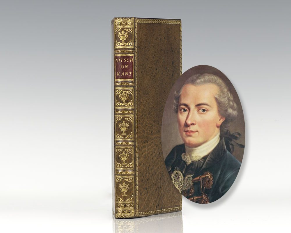 A General and Introductory View of Professor Kant's Principles Concerning Man, the World and the Deity.