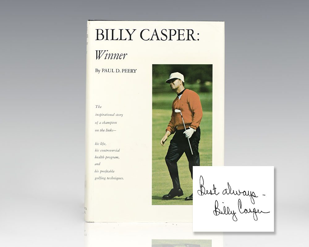 Billy Casper: Winner.
