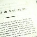 The Rights of Man Parts I & II, Common Sense, and Paine's Letters.