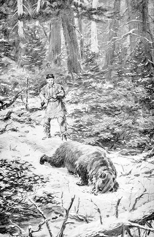 The Wilderness Hunter: An Account Of The Big Game Of The United States And Its Chase With Horse, Hound And Rifle.