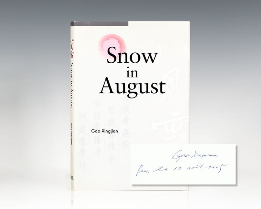 Snow in August.