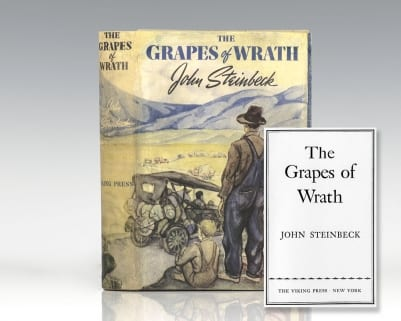 The Grapes of Wrath.