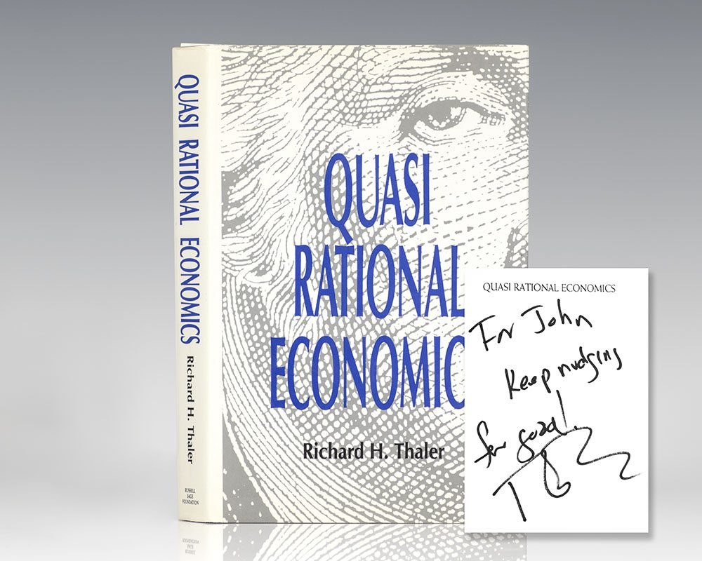 Quasi Rational Economics.