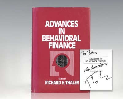 Advances in Behavioral Finance.