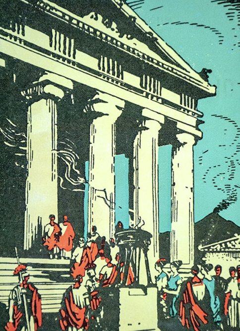 The Last Days of Pompeii.