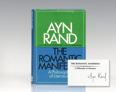 The Romantic Manifesto: A Philosophy of Literature.