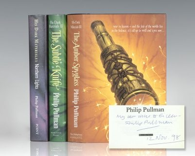 His Dark Materials Trilogy: Northern Lights, The Subtle Knife, The Amber Spyglass.