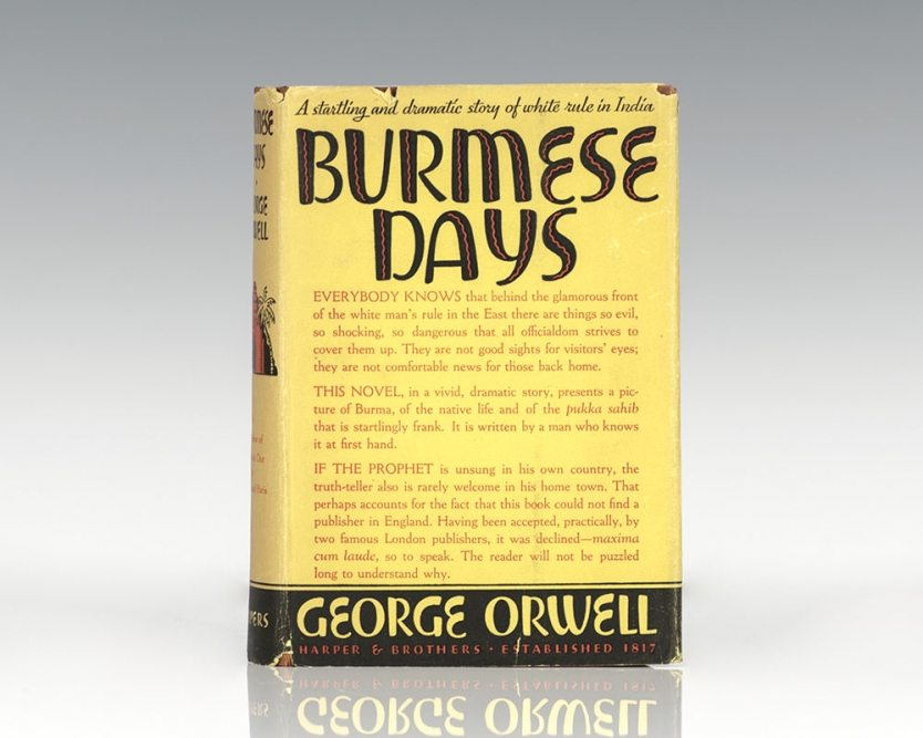 Burmese Days.