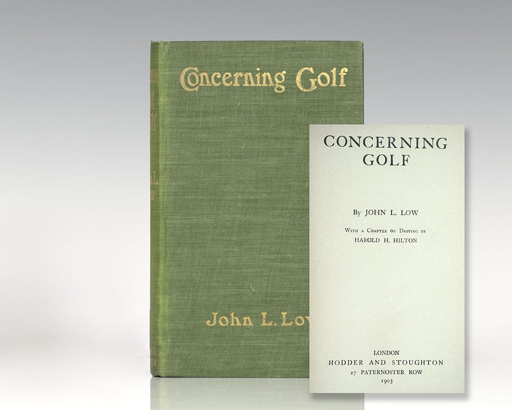 Concerning Golf.