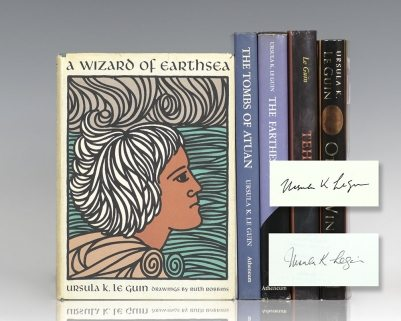 The Wizard of Earthsea, The Tombs of Atuan, The Farthest Shore, Tehanu and The Other Wind.