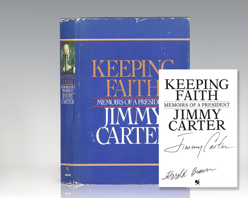 Keeping Faith: Memoirs of a President.