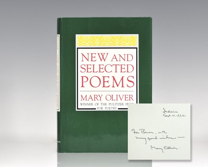 New and Selected Poems.