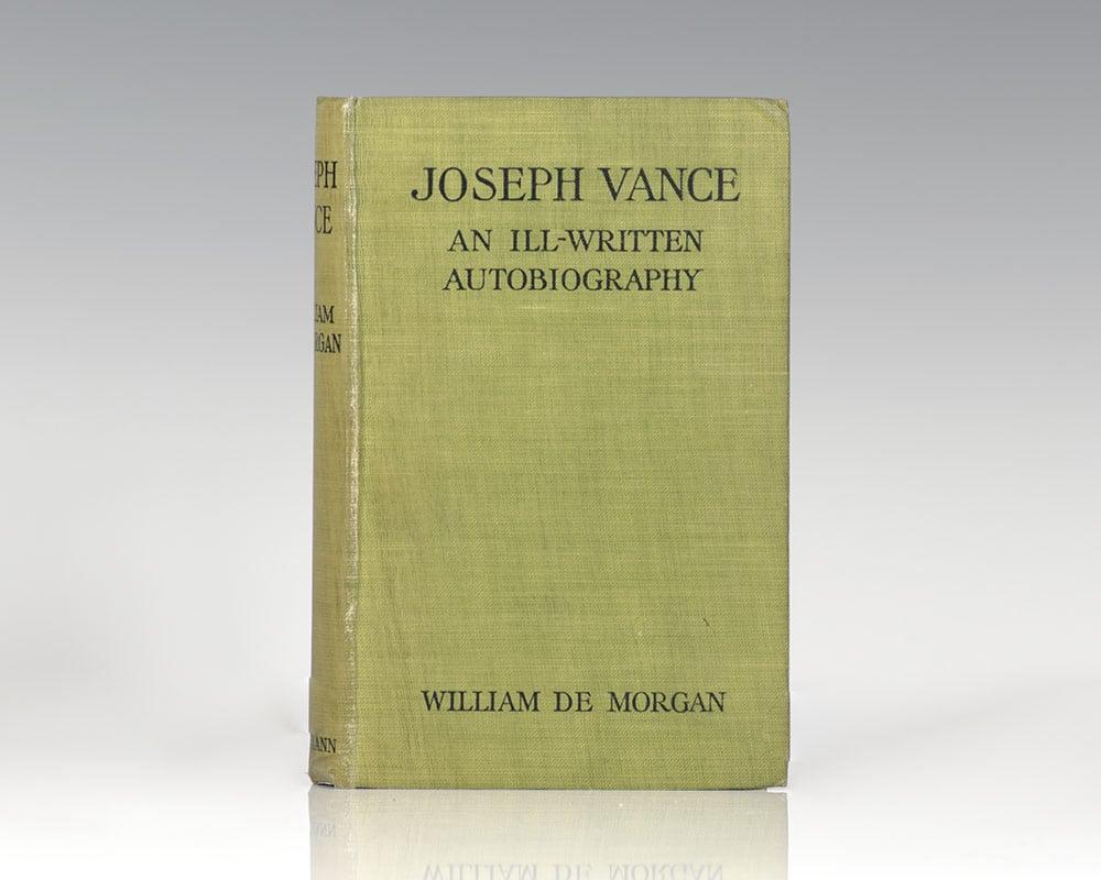 Joseph Vance: An Ill-Written Autobiography.