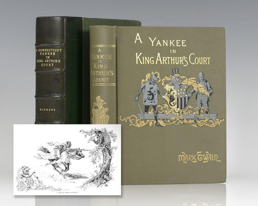 A Yankee in King Arthur's Court.