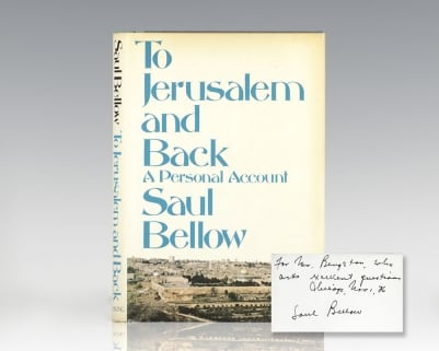 To Jerusalem and Back: A Personal Account.