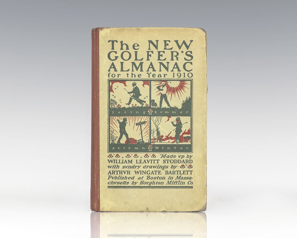 The New Golfer's Almanac for the Year 1910.