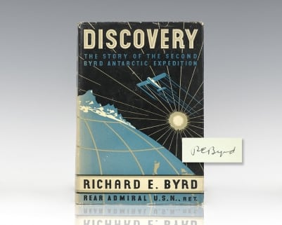 Discovery: The Story of the Second Byrd Antarctic Expedition.