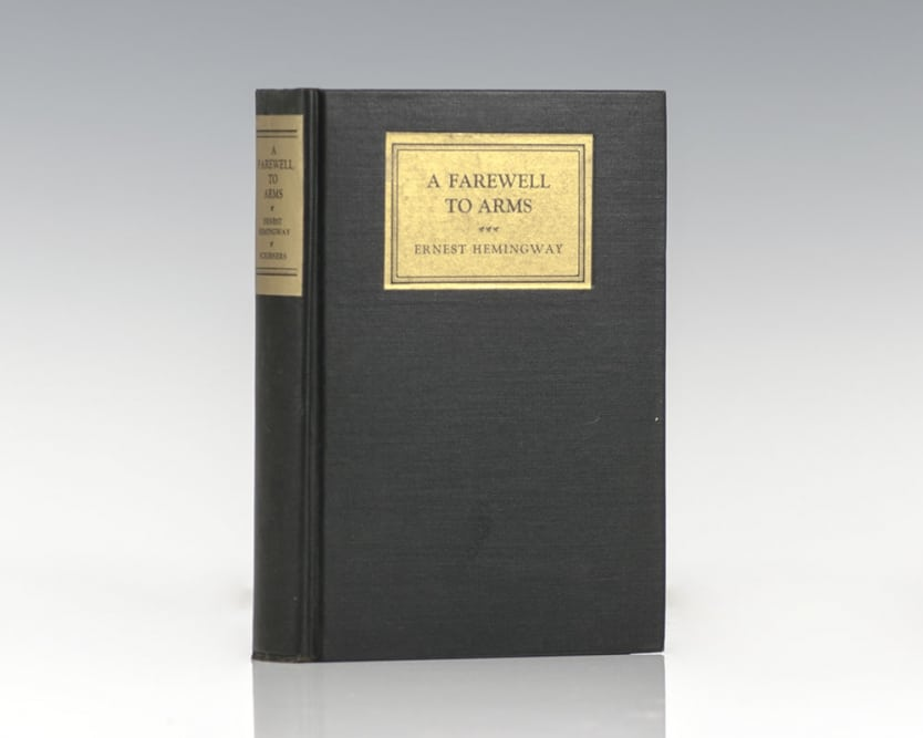 ernest hemingways war experience in his novel a farewell to arms Ernest hemingway: a true rolex man  hemingway would incorporate this romance in his novel 'a farewell to arms  about his experiences in the spanish civil war,.