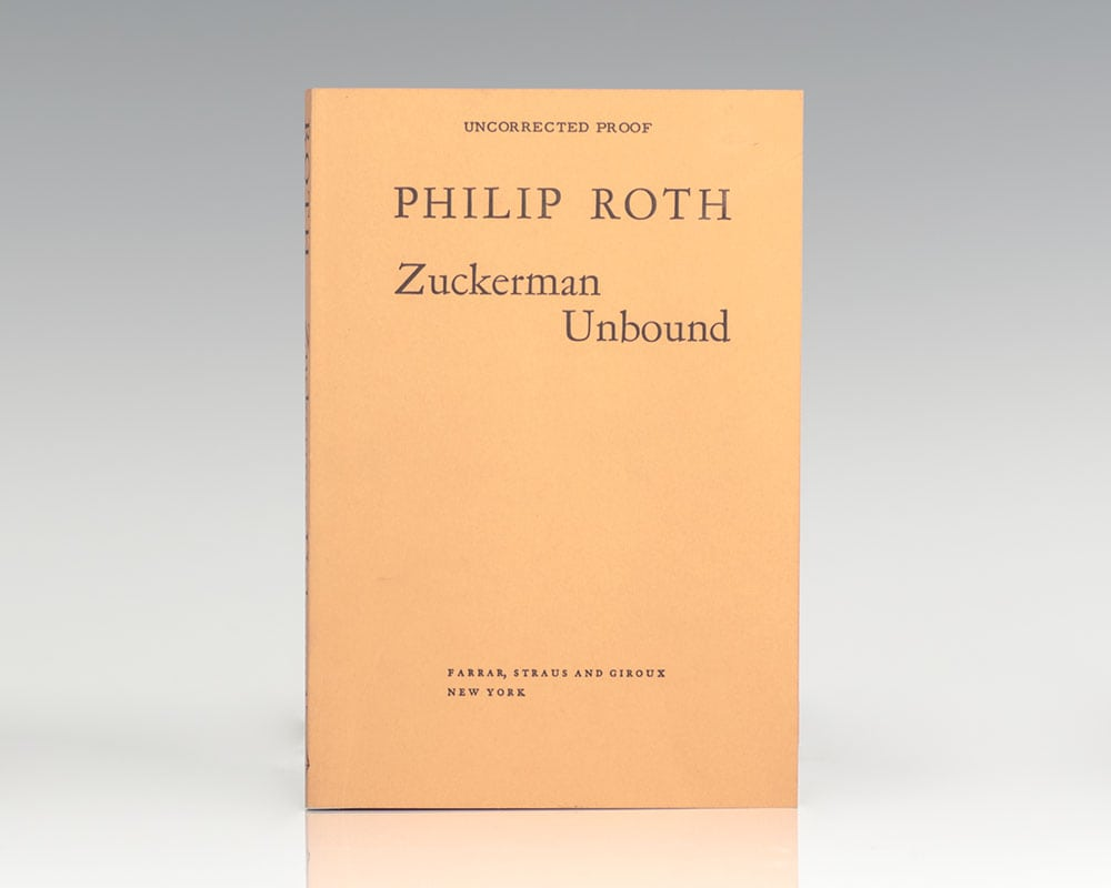 Zuckerman Unbound.