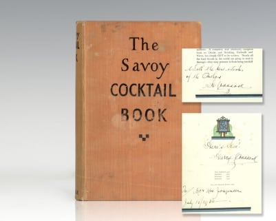 The Savoy Cocktail Book.