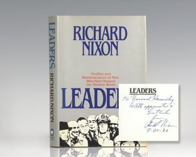 Leaders: Profiles and Reminisces of Men Who Have Shaped the Modern World.