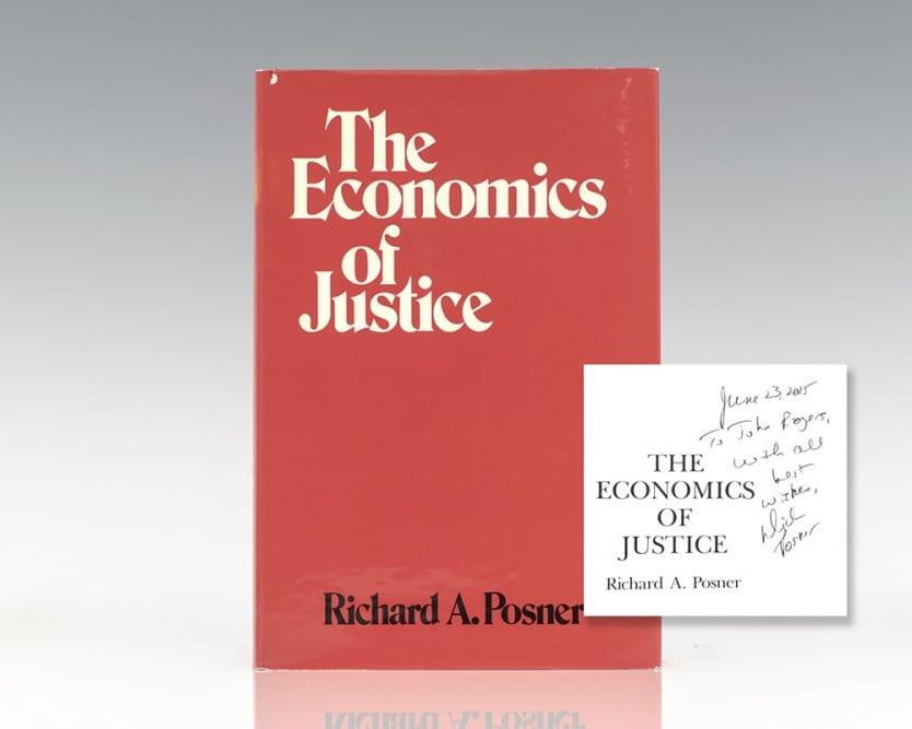 The Economics of Justice.