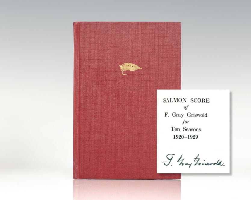 Salmon Score of F. Gray Griswold for Ten Seasons 1920-1929.