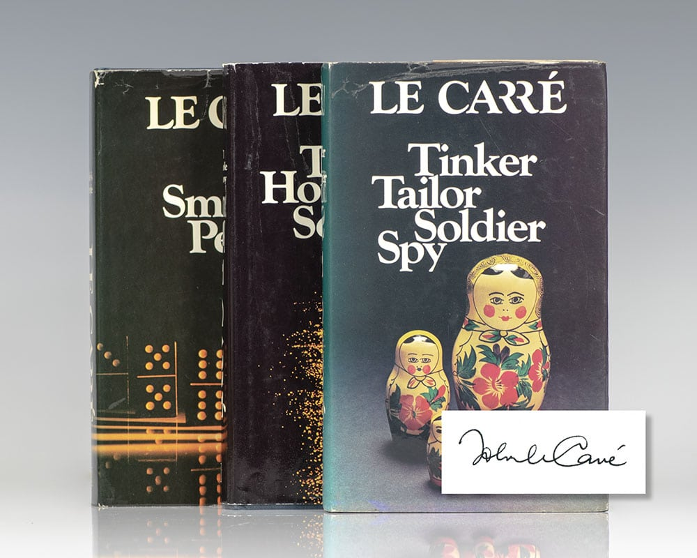 The Karla Trilogy] Tinker, Tailor, Soldier Spy; The Honourable Schoolboy; Smiley's People.