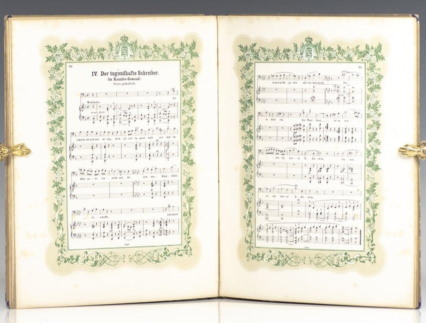 Wartburg-Lieder aus dem lyrischen Festspiel: Der Brunt Willkomm auf Wurtburg.