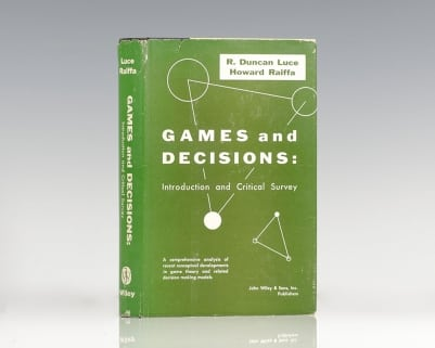 Games and Decisions: Introduction and Critical Survey.
