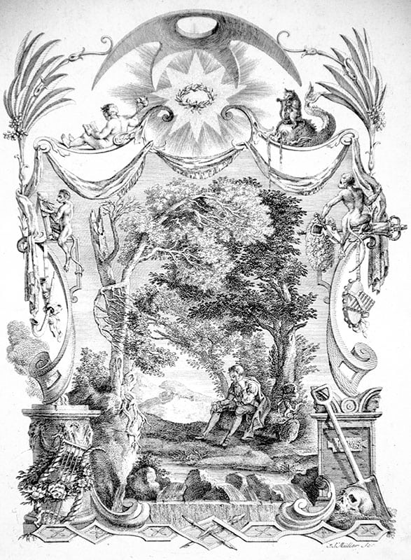 Designs by Mr. R. Bentley for Six Poems by Mr. T. Gray.