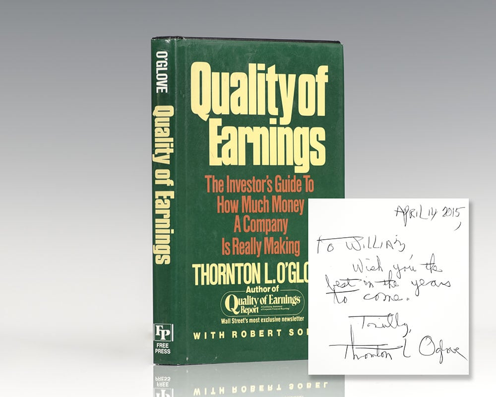 Quality of Earnings.