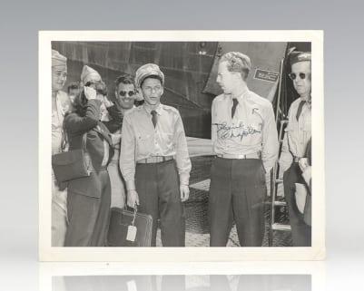 Saul Chaplin Signed Photograph.