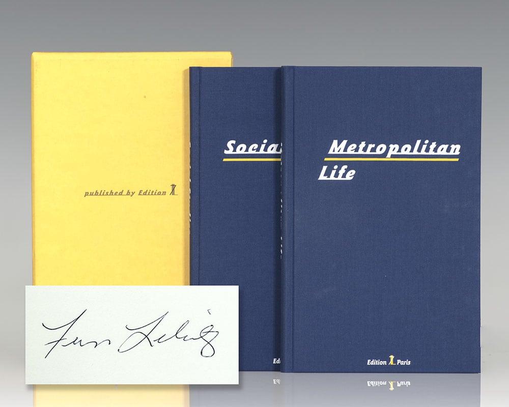 Metropolitan Life and Social Studies.