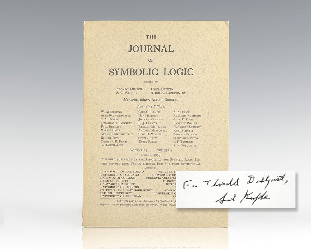 The Journal of Symbolic Logic: A Completeness Theorem in Modal Logic.