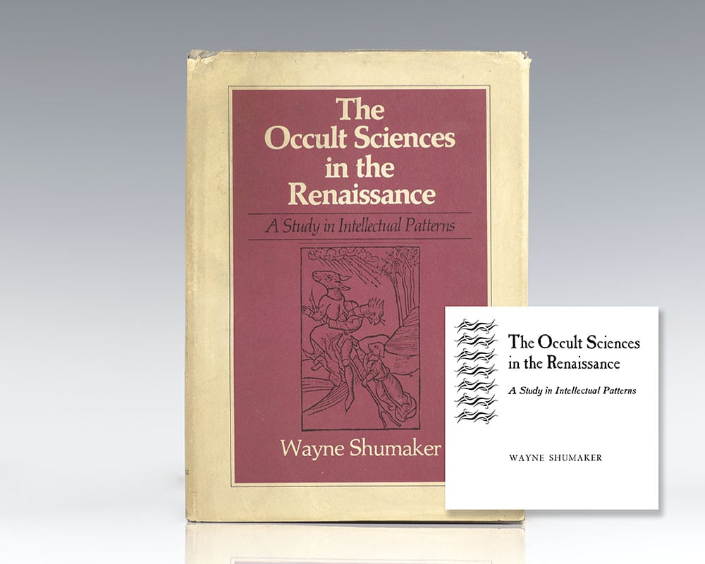 The Occult Sciences in the Renaissance: A Study in Intellectual Patterns.