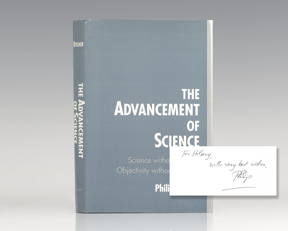 The Advancement of Science: Science Without Legend, Objectivity Without Illusions.