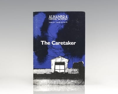 Original The Caretaker Playbill.