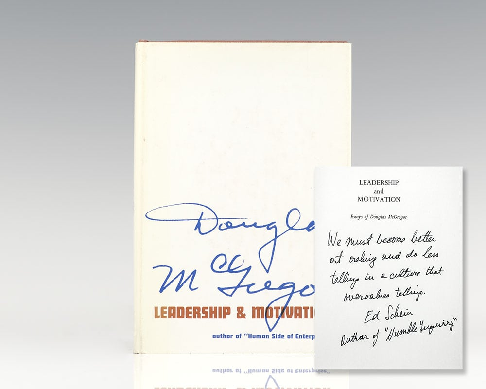 Leadership and Motivation: Essays of Douglas McGregor.