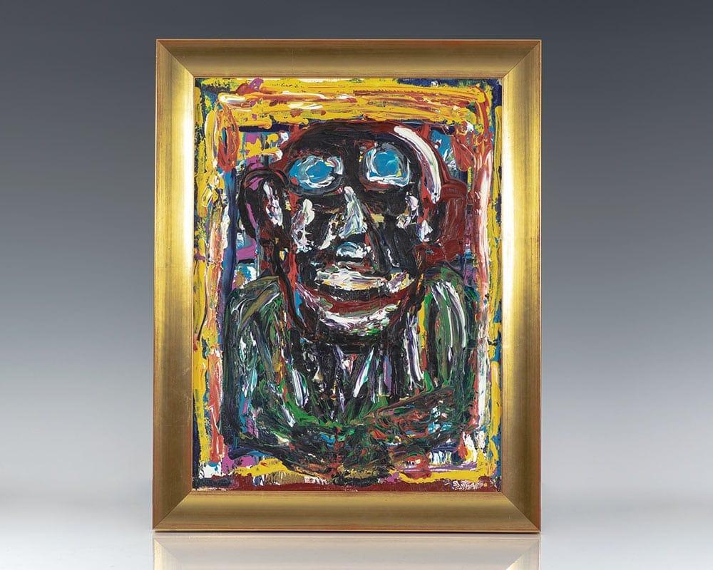 Self Portrait by Charles Bukowski.