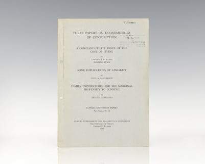 Three Papers on Econometrics of Consumption.