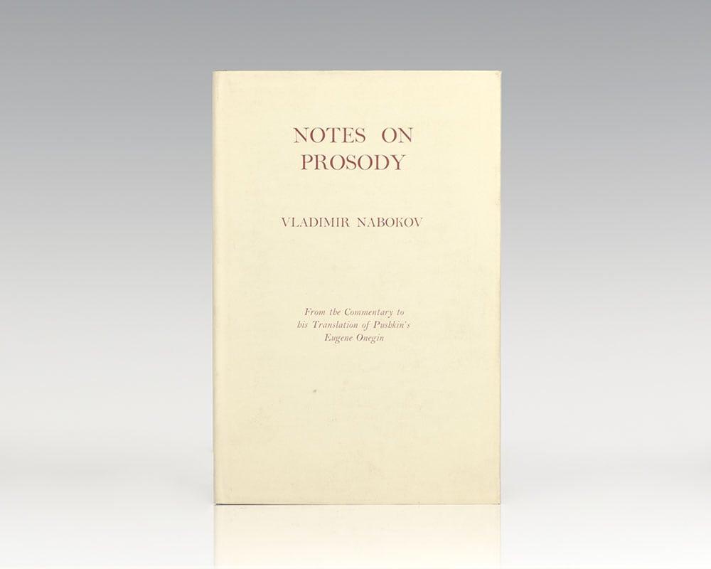 Notes on Prosody.