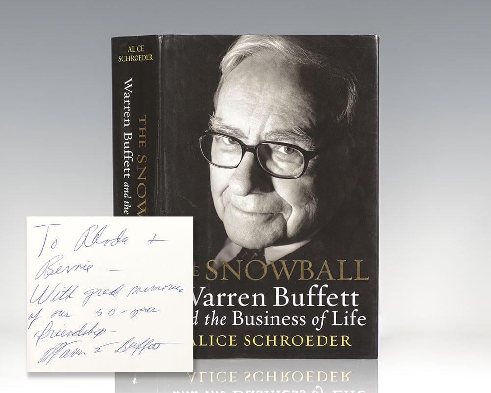 The Snowball: Warren Buffett and the Business of Life.