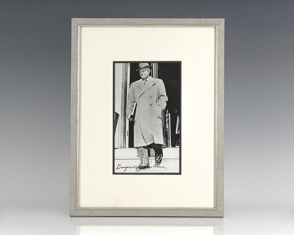 Dwight D. Eisenhower Signed Photograph.