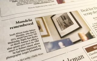 In The News: Mandela Remembered.
