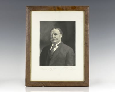 President William Howard Taft Signed Photograph.
